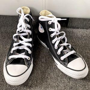 Hi-top Woman's Black Converse